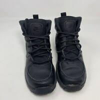 Boys Nike Manoa Leather Boots Black BQ5373 001 Size 12.5C