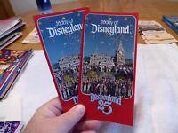 Today at Disneyland Brochure 25th Anniversary - MINT