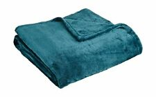 """Northpoint Cashmere Plush Velvet Throw, Teal, 50"""" x 60"""" 50x60"""