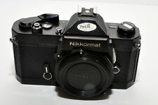 Blk Body Nikon Nikkormat FT2 Camera, completely functional  Very Clean an easy 7