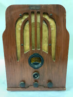 Philco 37-361 Cathedral Antique Tube Radio Classic Vintage Original