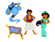 Disney Aladdin Novelty Buttons Jesse James Theme Pack