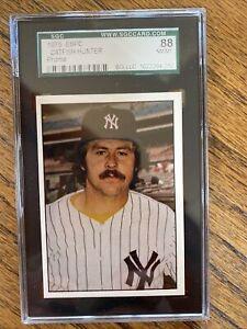 1975 SSPC PROMO Catfish HUNTER SGC GRADING 8.8 Yankees
