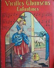 VIEILLES CHANSONS ENFANTINES Illustrations LE RALLIC Chagor 1937