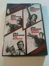 Dirty Harry Collection: 4 Film Favorites (DVD, 2010, 2-Disc Set) sealed