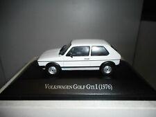 VOLKSWAGEN GOLF 1 GTI 1976 WHITE NOREV HACHETTE 1:43