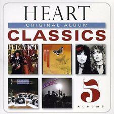 HEART - Original Album Classics  - NEW 5 CD SEALED