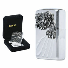 Zippo A TIGER CLAW NA Lighters GENUINE and ORIGINAL Packing