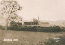 More details for cambrian railway station / halt - bryngwyn - with train - r.p. c.1915 w.kear #76