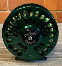 For Sale: Abel Super 8 Fly Reel - Green - with Steelhead Fly Line