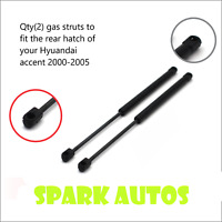 GAS STRUTS TO LIFT HYUNDAI ACCENT BOOT HATCH 2000-2005 3 and 5 door - new pair !