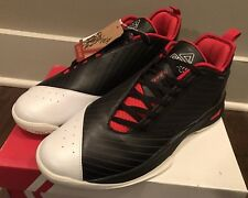 Peak Men's E51011A Soaring Low Black/Red Basketball Shoes Sz 11 - NIB