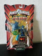 "BanDai Power Rangers Jungle Fury Savage Spin Blue Shark Ranger 6"" Action Figure"