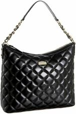 Kate Spade New York GOLD COAST LEATHER MEDIUM SERENA Quilted Black Handbag