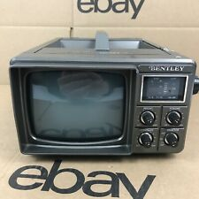 """Vintage Bentley 100C 5"""" Portable Black & White TV Receiver Battery Operated 6.A2"""