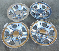 "17"" Chrome Skins Set of Four (4) for a 2002-2012 Dodge 1500 Pickup Steel Wheels"