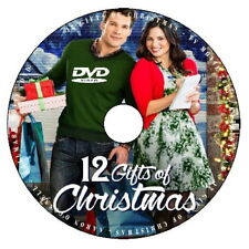 12 GIFTS OF CHRISTMAS 2015 DVD HALLMARK MOVIE No Case/Art-DiscOnly