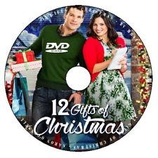 12 GIFTS OF CHRISTMAS 2015 DVD HALLMARK MOVIE No Case/Art-DiscOnly