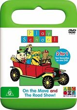 Play School - On The Move / The Road Show - Double Kid's DVD