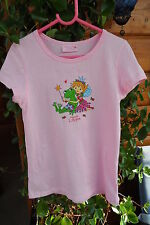 Prinzessin Lillifee & Frosch Magic T-Shirt 128 - 140 rosa Aufdruck Kindergarten