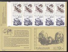SWEDEN - SVEZIA - Libretto - 1984 - Il mondo della montagna. Fauna e flora