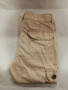 Justice Girls Size Size 10r Jegging Jeans High Rise straight Beige