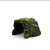 Tortoise Hide Resin Reptile Cave Natural Fish Tank Ornament for Frog