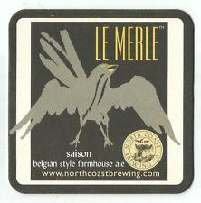 16 North Coast Le Merle Saison Belgian Style Farmhouse Ale Beer Coasters