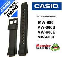 REPLACEMENT CASIO WATCH BAND ORIGINAL ONLY FITS: MW-600,MW600