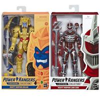 Power Rangers Lightning Collection GOLDAR & LORD ZEDD Figure Lot Bundle 2019 New