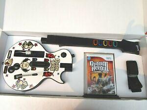 WII GUITAR HERO 3 LENGENDS OF ROCK BUNDLE
