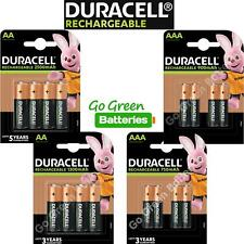 More details for duracell aa aaa rechargeable batteries nimh 2500 1300 900 750mah stay charged