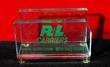 Vintage R+L Carriers Business Card Holder R L R&L truck trucking