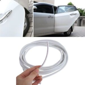 157.5 In/4 M White Car Door Trim Edge Body Strip  Mold Scratch Guard Protector