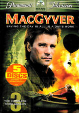 New Macgyver The Complete Third Season 5 Dvd Factory Sealed Free Ship Track Us