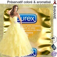 Offre Découverte Préservatif  💛 DUREX FRUITS 💛  Coloré & Aromatisé BANANE