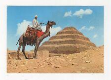 Sakkara King Zosers Step Pyramid Egypt Postcard 526a