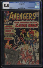 Avengers #5 CGC 8.5 OW-W Pages Hulk Appearance Early Marvel