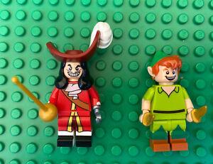 LEGO Series Disney 71012 Minifigures - Peter Pan + Captain Hook Mini fig