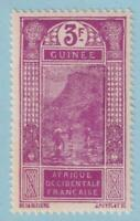 FRENCH GUINEA 102  MINT HINGED OG * NO FAULTS EXTRA FINE!