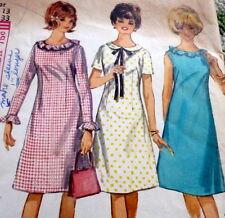 *Lovely Vtg 1960s Dress Sewing Pattern 13/33