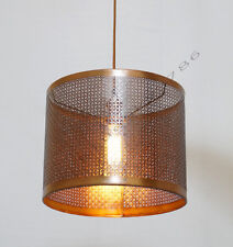 Industrial Copper Antique Metal Pendant Lamp Shade Restaurant Lamp Light
