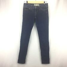 Pink Sz 0 Victoria's Secret Blue Medium Wash Denim Skinny Jeans