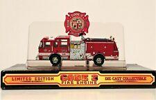 Vintage PIERCE Code 3 Los Angeles Limited Edition Fire Engine Die Case  1/64th