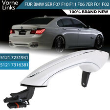 51217231931 White Exterior Front Left Door Handle For BMW F07 F10 F06 F11 F01