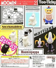 Japan Europe Moomin Valley Characters Minigifure Figure Part 2 Full Set 6pc