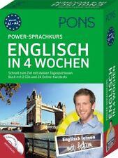 NEU: PONS Power-Sprachkurs ENGLISCH lernen in 4 Wochen für Anfänger