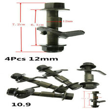 Car Wheel Alignment Cam bolts With Adjustable Nut And No-slip Gasket 4Pcs 12mm