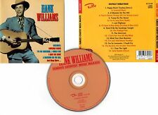 "HANK WILLIAMS ""Famous Country Music Makers"" (CD) 1999"