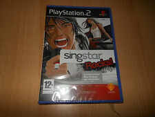 Singstar Rocks  PS2 NEW SEALED  uk pal version